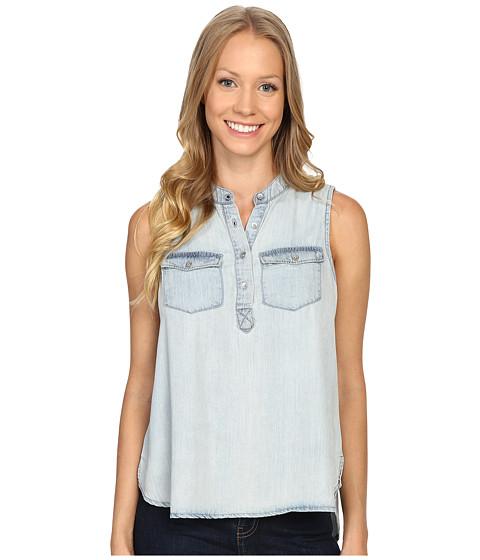 Calvin Klein Jeans Garment Dyed Tencel Short Sleeve Woven Shirt