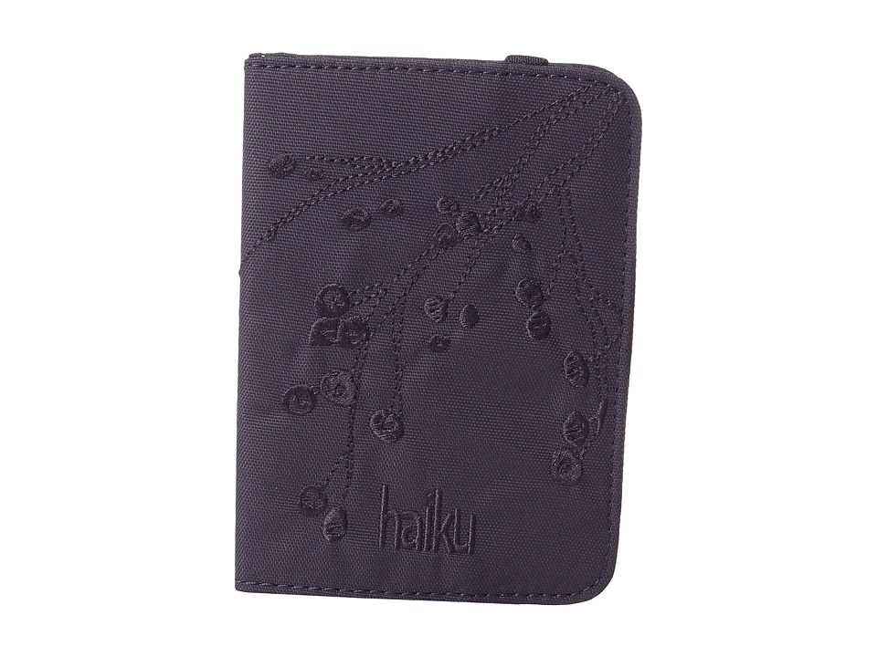 Haiku - Track RFID Passport Case (Amethyst) Handbags