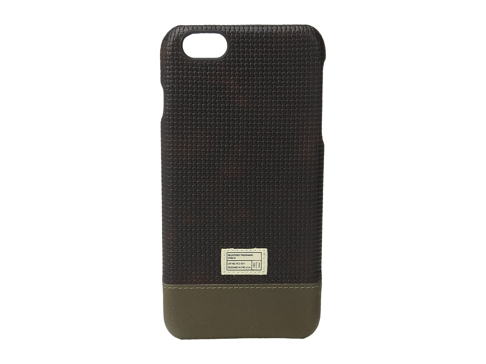 HEX - iPhone6+/6S+ Focus Case (Brown Woven) Cell Phone Case