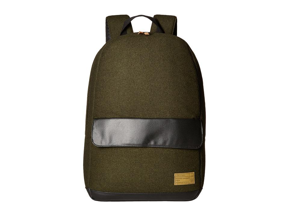 HEX - Echo Backpack (Stinson Olive/Black) Backpack Bags