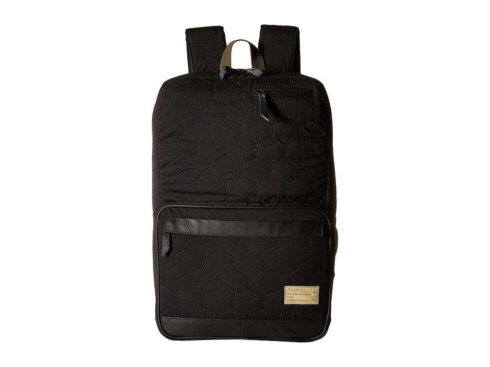 HEX - Origin Backpack (Empire Black/Quilt) Backpack Bags