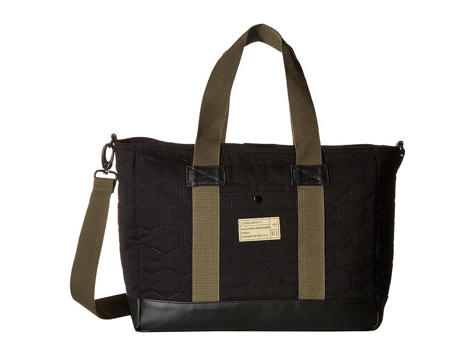 HEX - Work Bag (Empire Black/Quilt) Messenger Bags