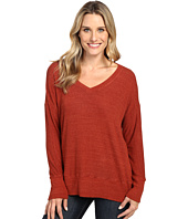 Allen Allen - Long Sleeve Sweater Vee