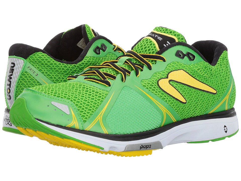Newton Running - Fate III (Emerald/Yellow) Mens Shoes