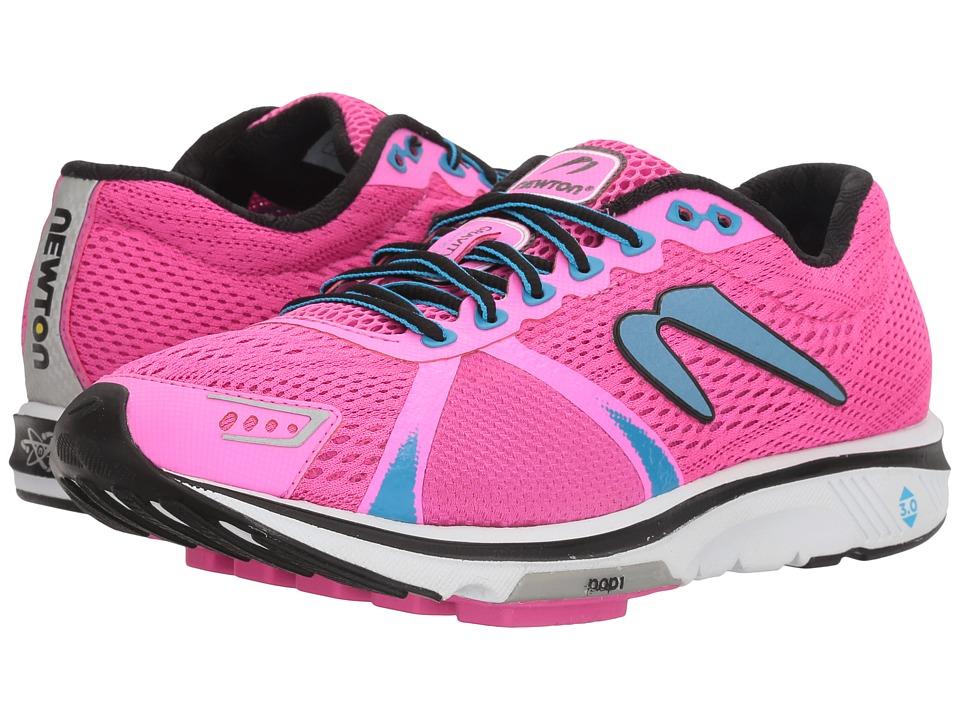 Newton Running - Gravity VI (Rhodamine/Teal) Womens Shoes