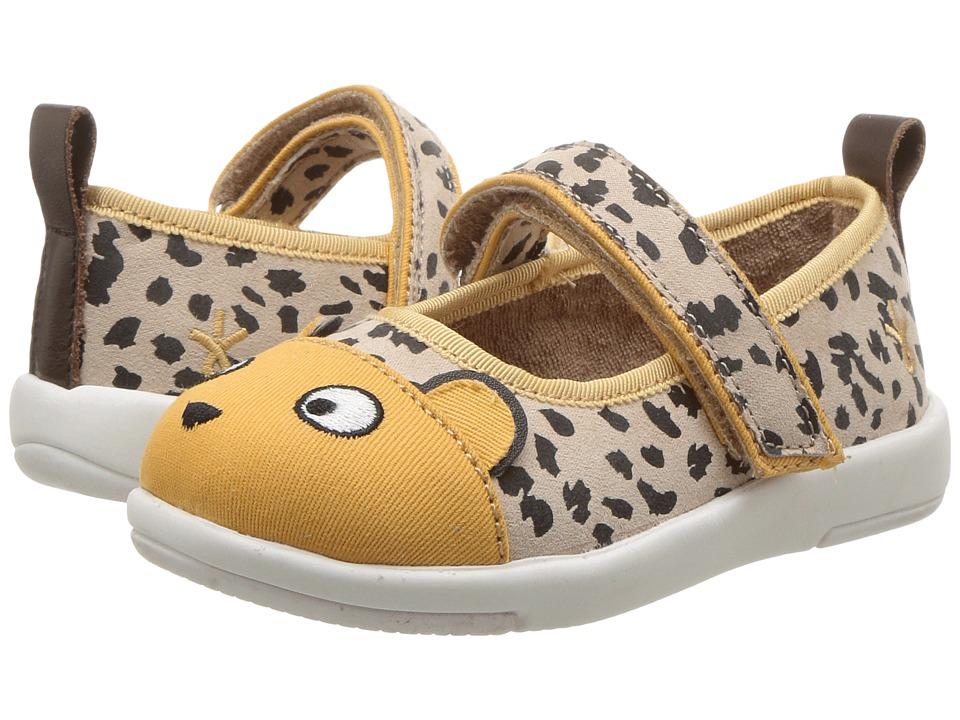 EMU Australia Kids Cheetah Ballet (Toddler/Little Kid/Big Kid) (Caramel) Girl's Shoes