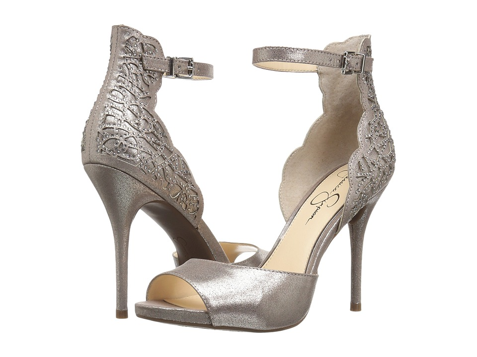 Jessica Simpson Bellona (Gunmetal Dusty Metallic Micro) Women