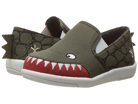 EMU Australia Kids Croc Sneaker (Toddler/Little Kid/Big Kid) - Khaki
