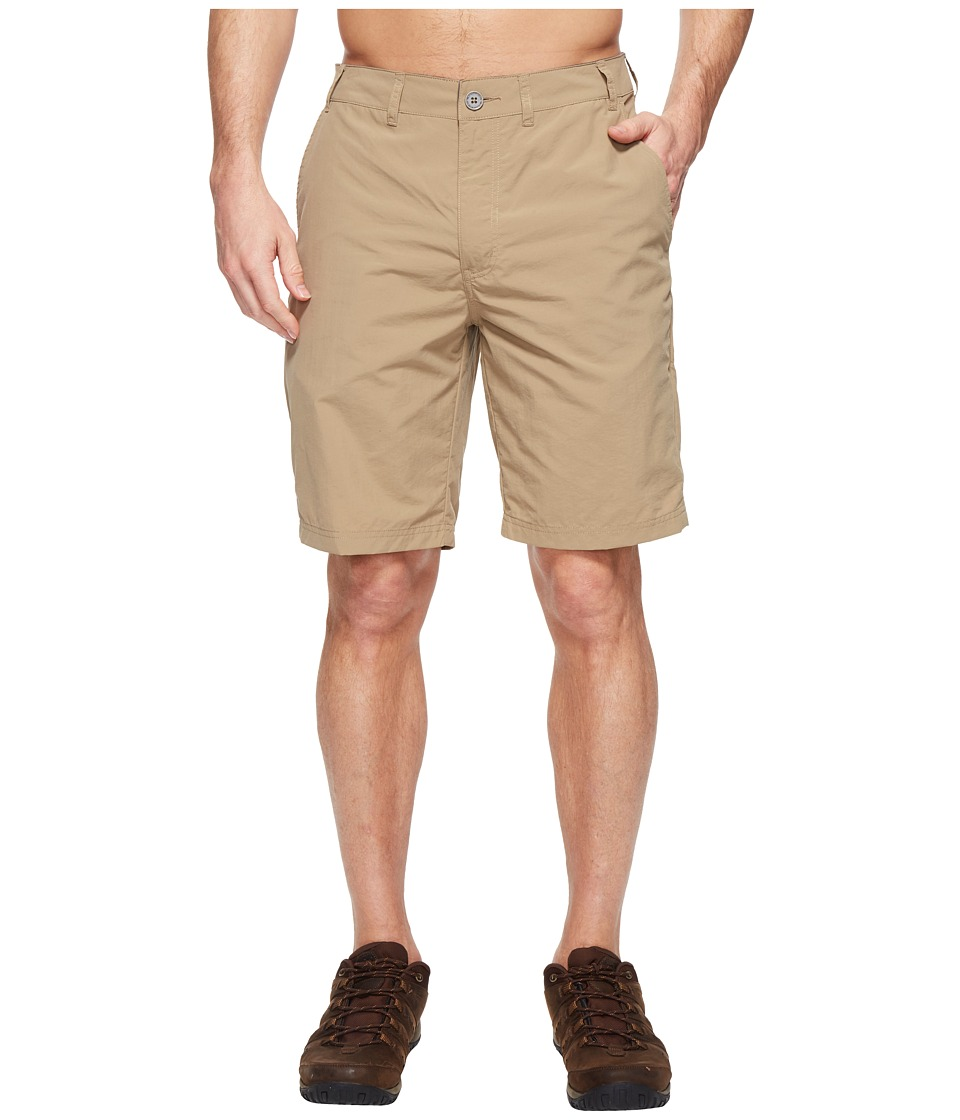 ExOfficio - Sol Cool Nomad 10 Shorts (Walnut) Mens Shorts
