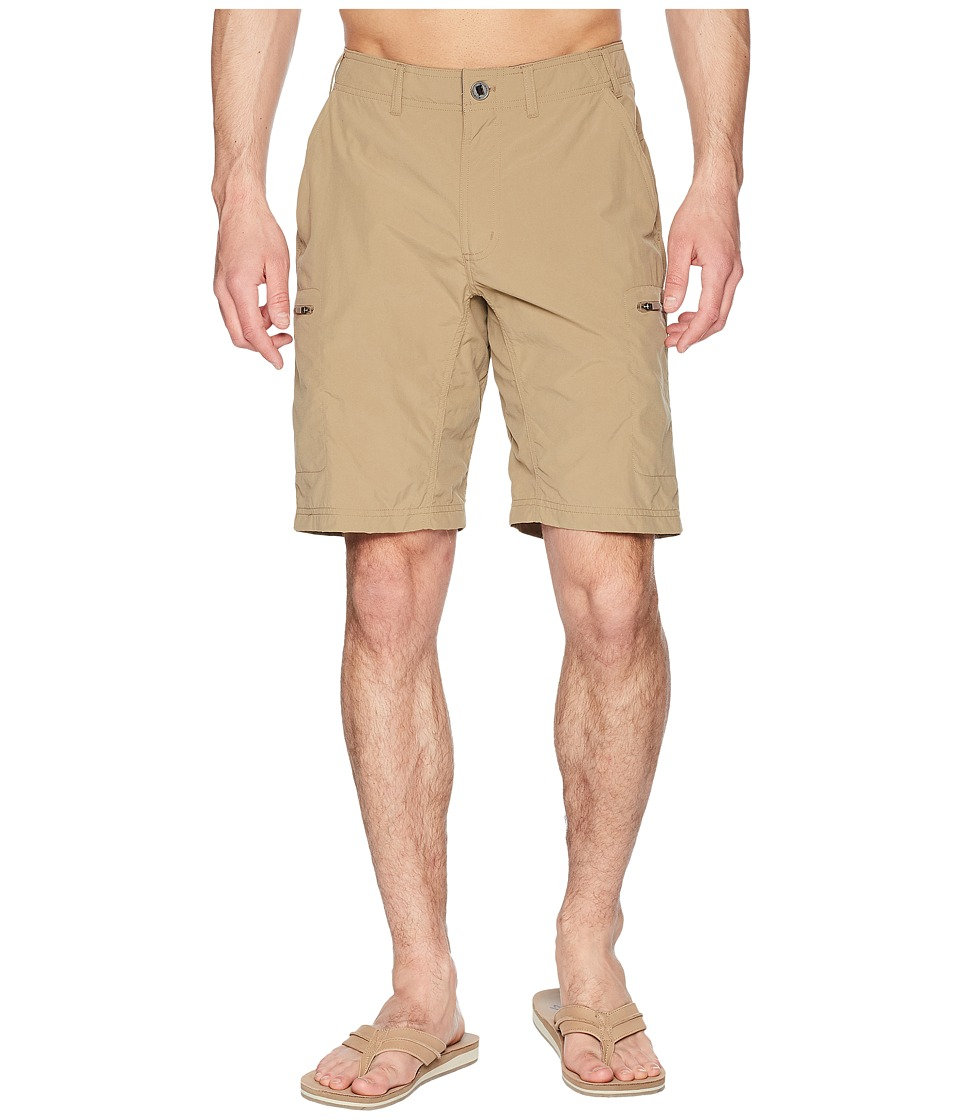 ExOfficio - Sol Cool Camino 10 Shorts (Walnut) Mens Shorts