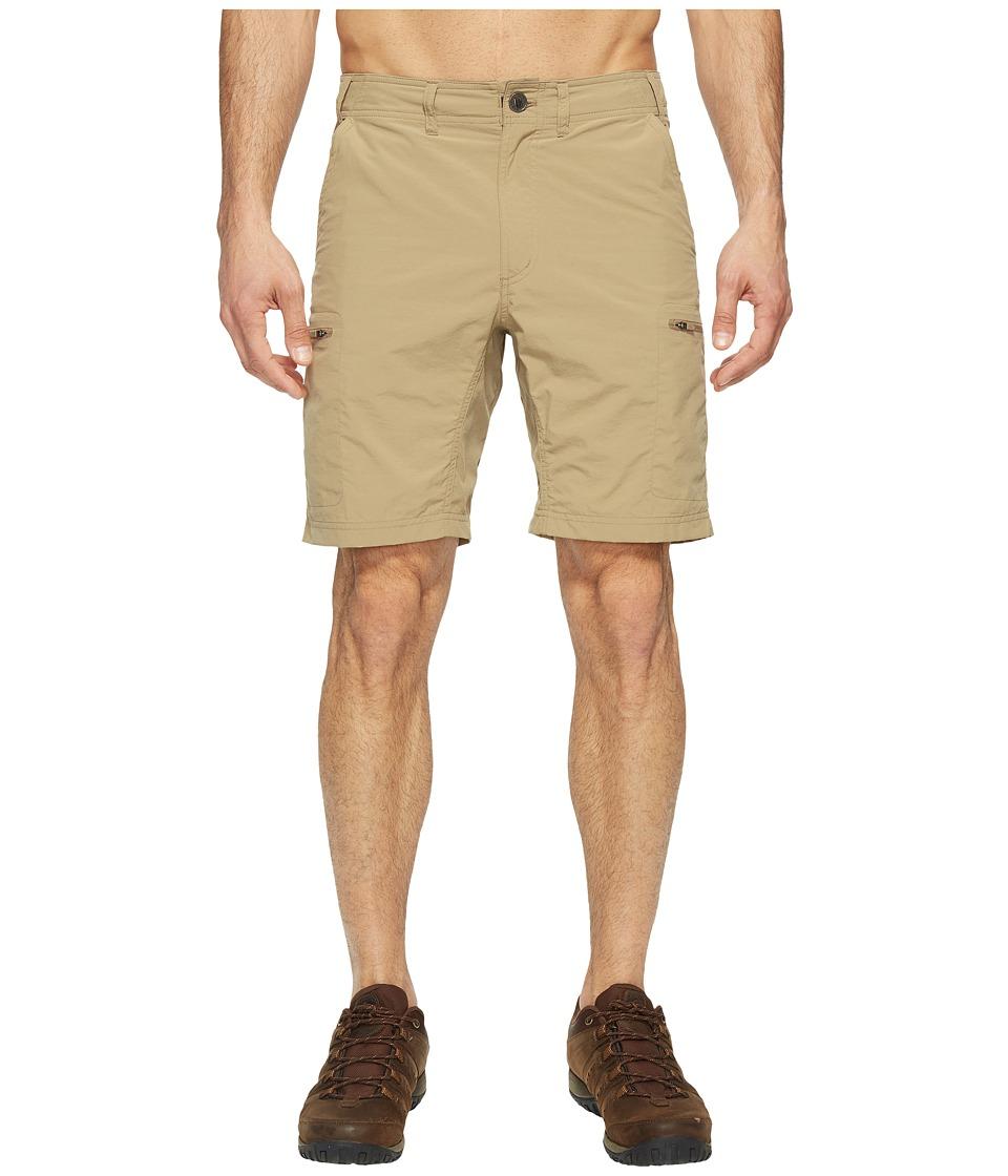 ExOfficio - Sol Cool Camino 8.5 Shorts (Walnut) Mens Shorts