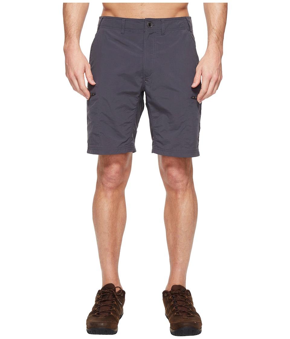 ExOfficio Sol Cool Camino 8.5 Shorts (Carbon) Men
