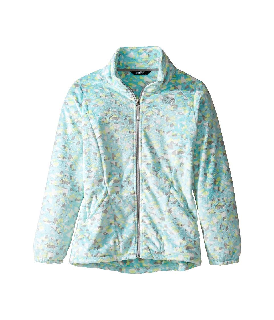 The North Face Kids Osolita 2 Jacket (Little Kids/Big Kids) (Breeze Blue Confetti Burnout Print (Prior Season)) Girl