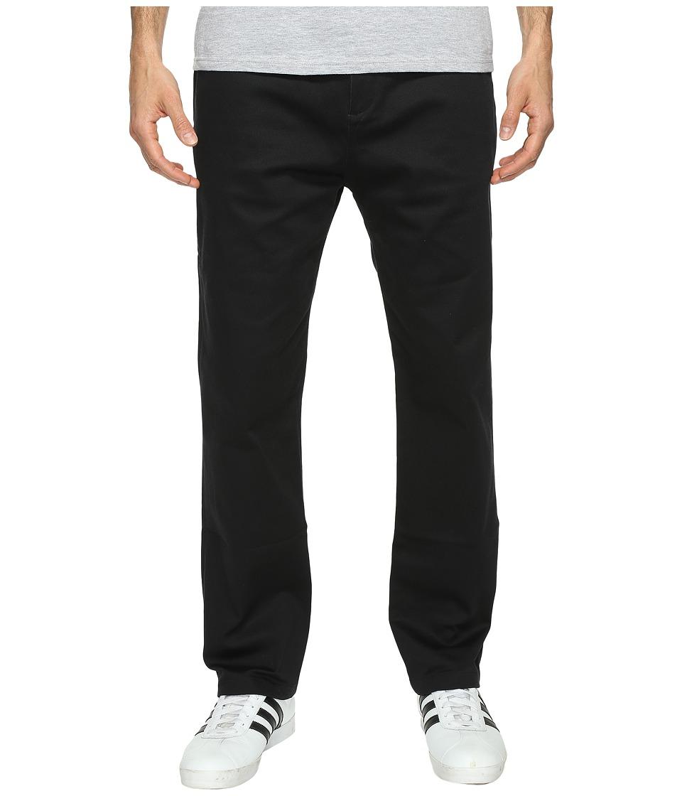 Image of adidas Skateboarding - Adi Chino Pants (Black) Men's Casual Pants