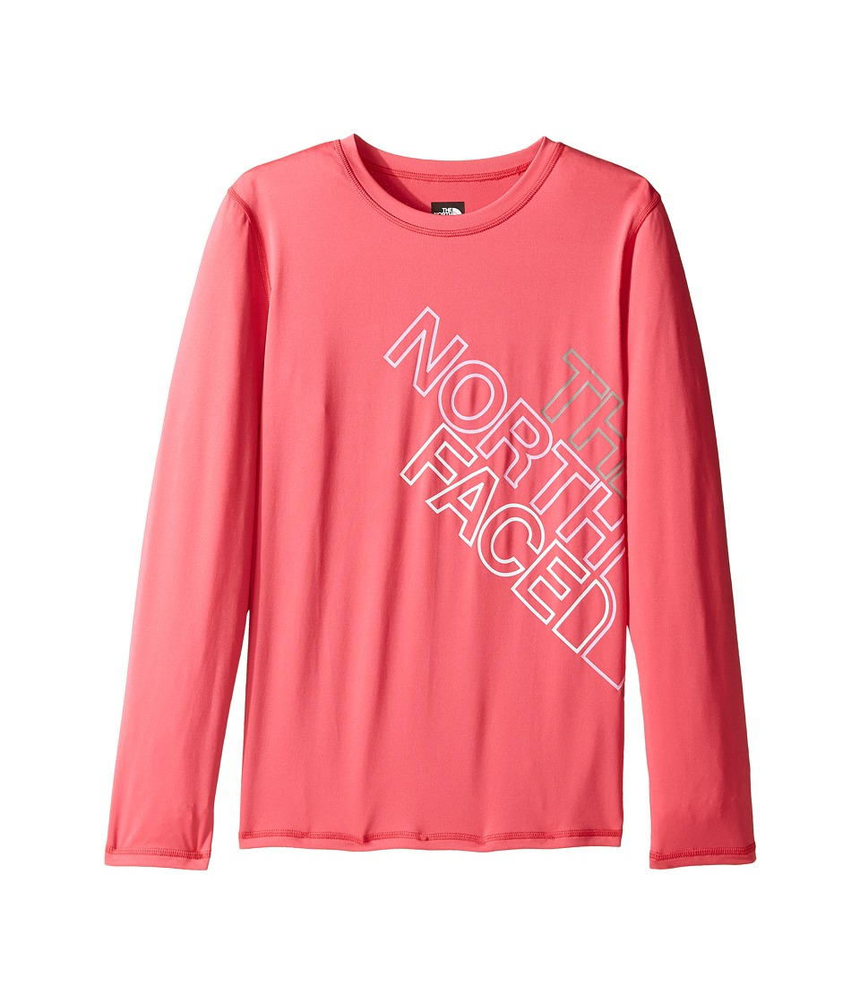 The North Face Kids Long Sleeve Hike/Water Tee (Little Kids/Big Kids) (Honeysuckle Pink) Girl