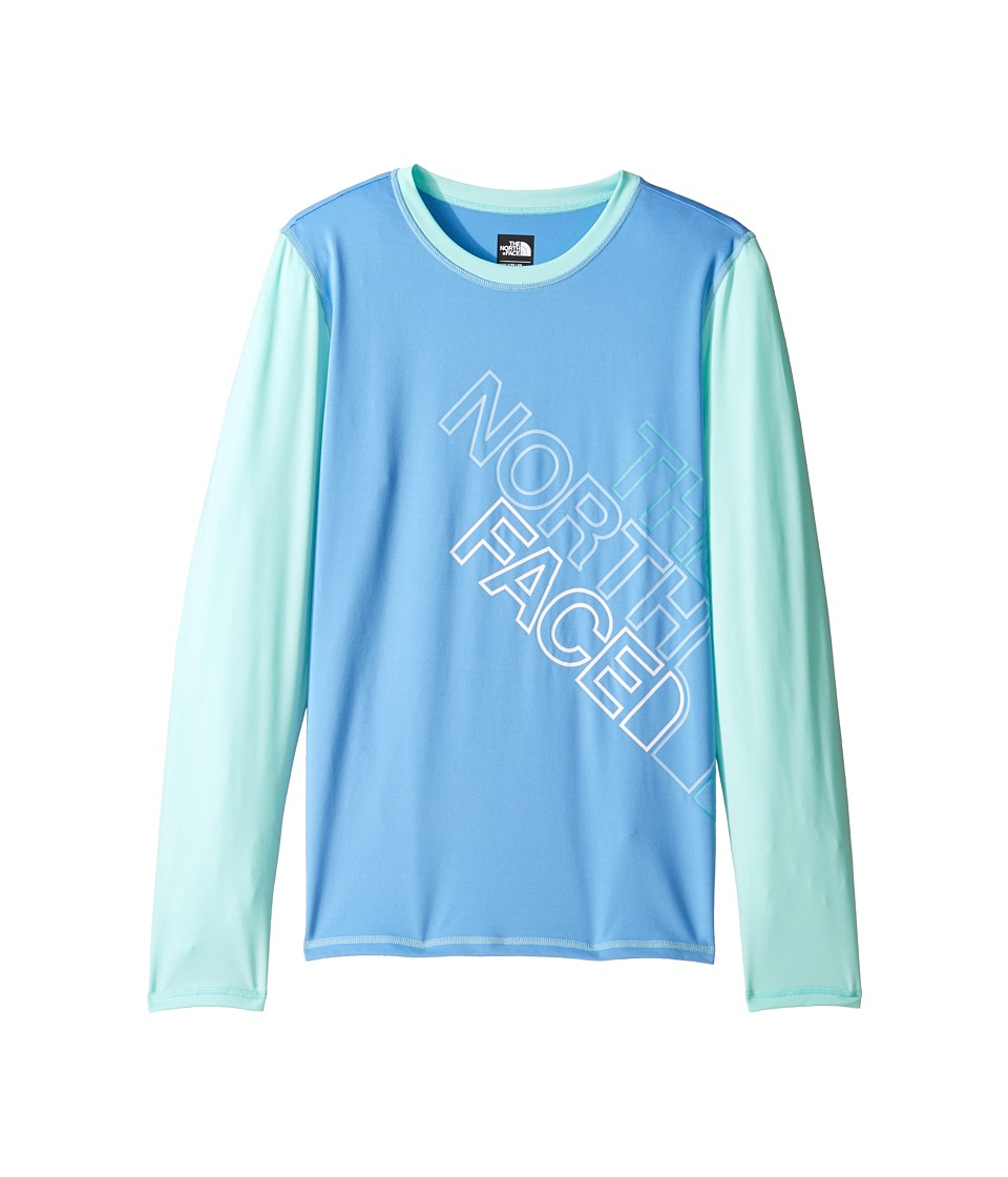 The North Face Kids Long Sleeve Hike/Water Tee (Little Kids/Big Kids) (Provence Blue) Girl