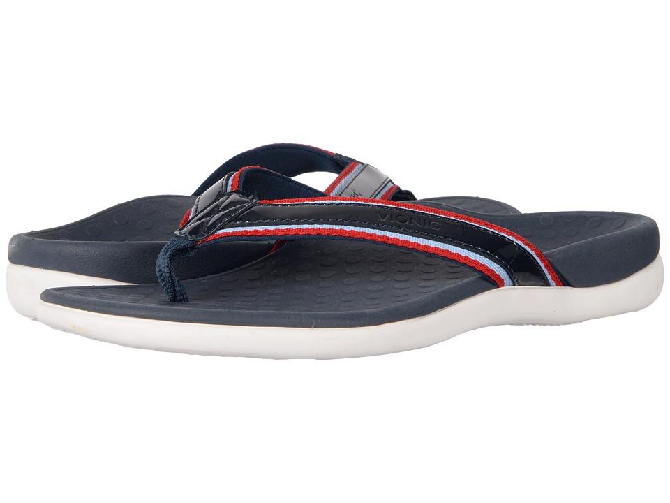 VIONIC - Tide Sport (Navy Patent Leather) Women's Sandals