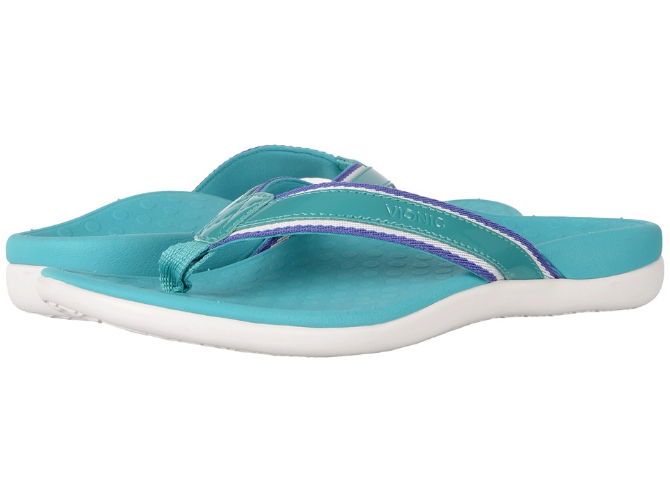 VIONIC Tide Sport (Teal Patent Leather) Women