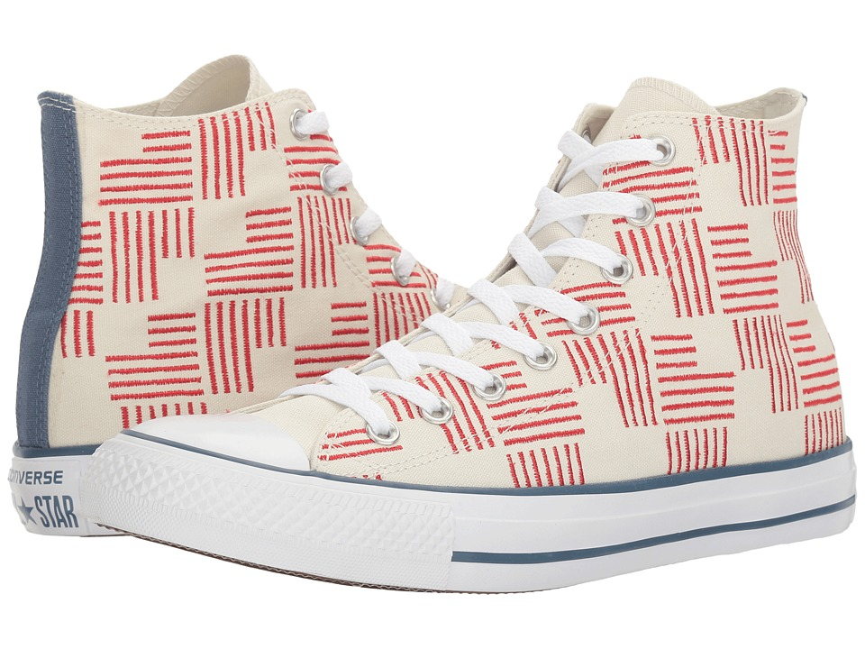 Converse Chuck Taylor All Star Americana Hi (Buff/Casino/Blue Coast) Classic Shoes