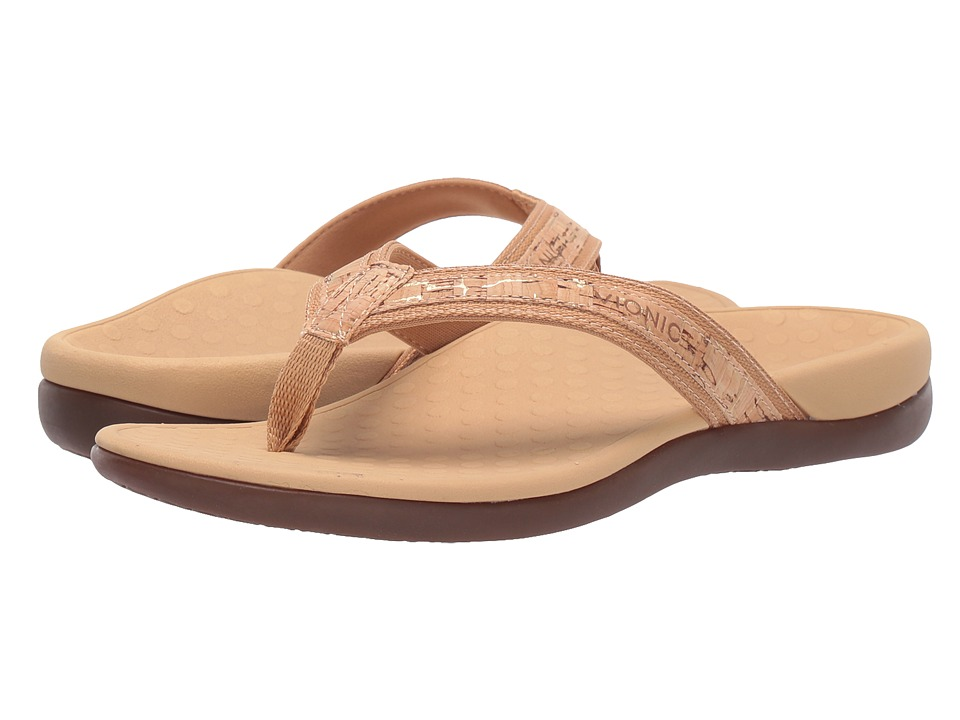 VIONIC Tide II (Gold Cork) Sandals