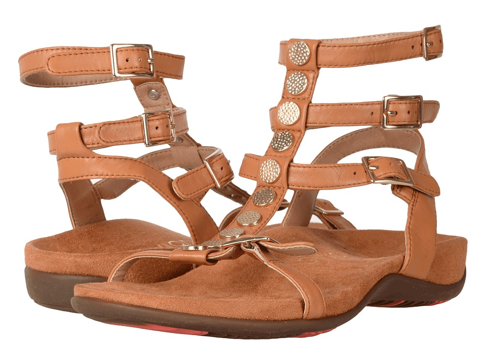 VIONIC Sonora (Caramel Leather) Women