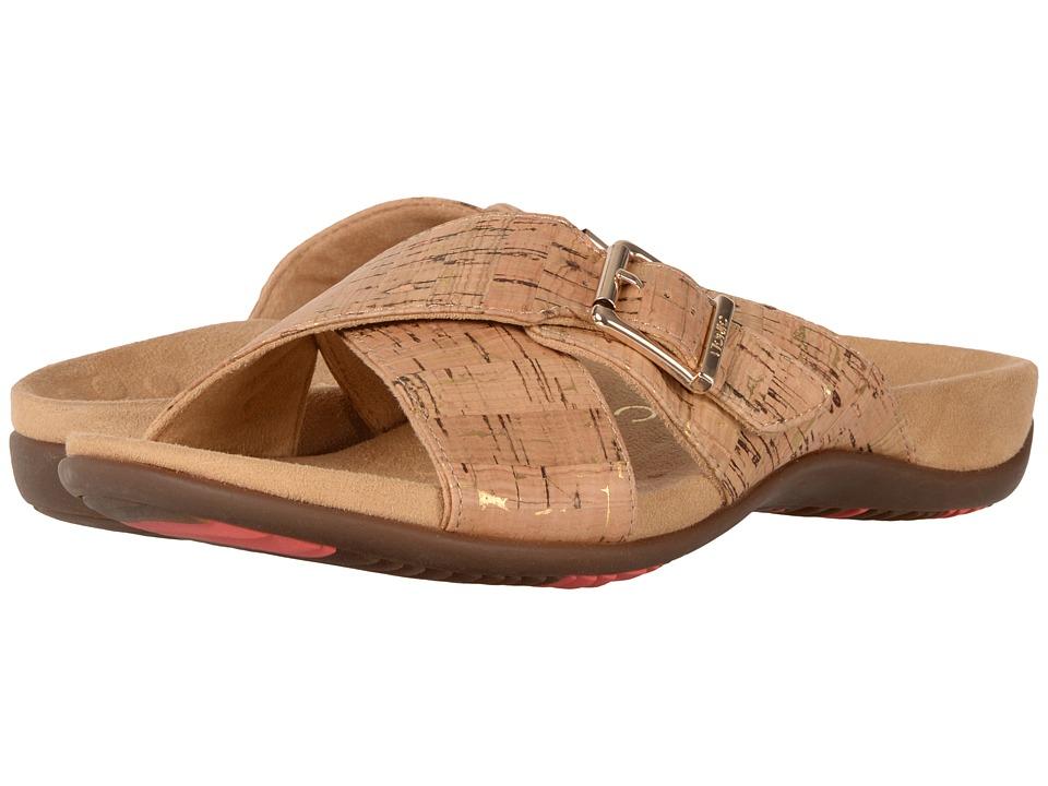 Vionic Dorie (Gold Cork) Women's Sandals