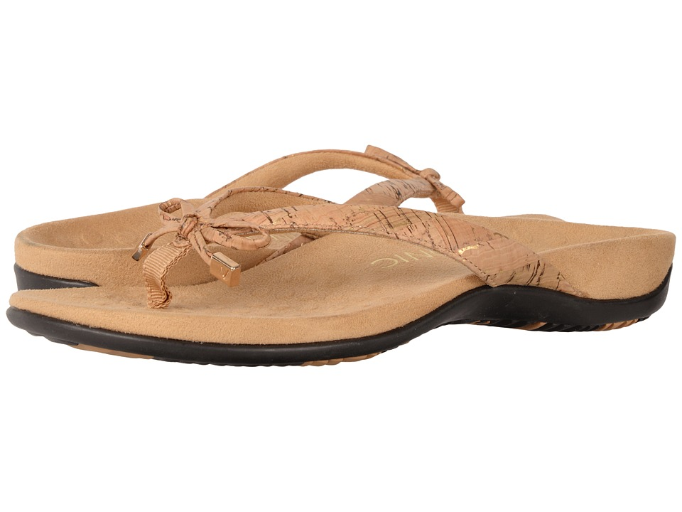 VIONIC Bella II (Gold Cork) Sandals