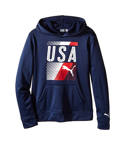 Puma Kids USA Olympic Hoodie (Big Kids)