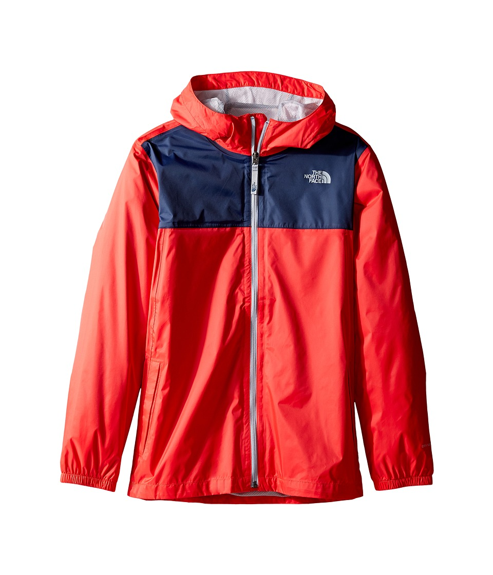 The North Face Kids Zipline Rain Jacket (Little Kids/Big Kids) (High Risk Red) Boy