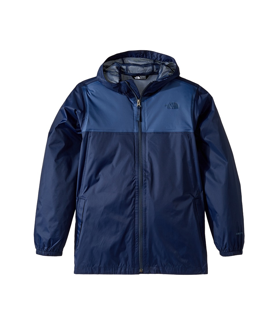 The North Face Kids Zipline Rain Jacket (Little Kids/Big Kids) (Cosmic Blue) Boy