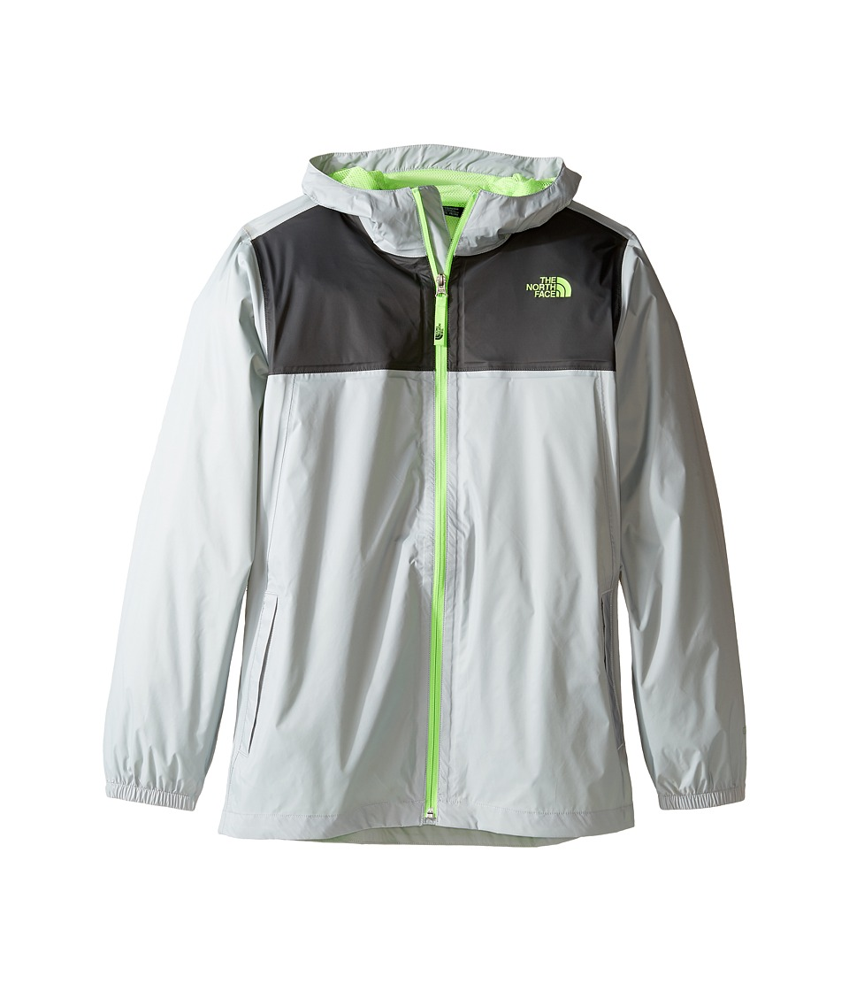 The North Face Kids Zipline Rain Jacket (Little Kids/Big Kids) (High-Rise Grey) Boy