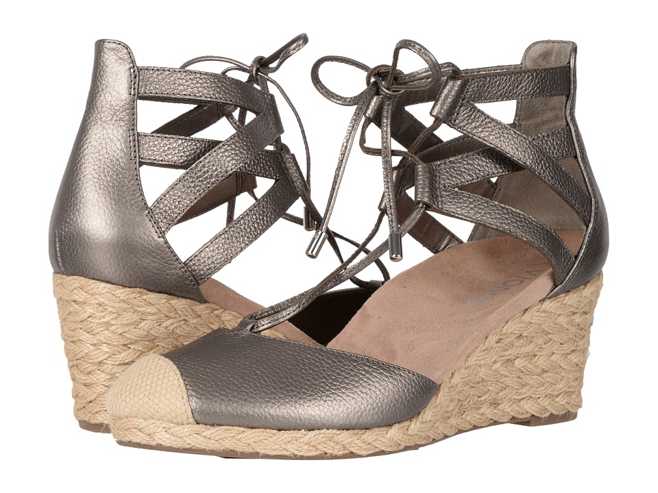 VIONIC - Calypso (Pewter Metallic) Women's Wedge Shoes