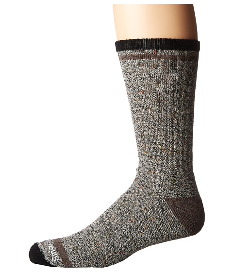 Smartwool Larimer Crew - Black/Taupe Heather