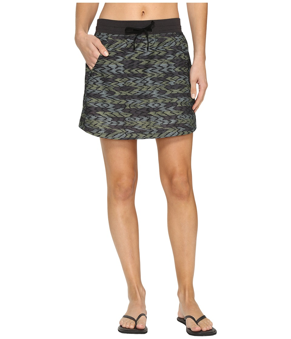 The North Face Class V Skort (Graphite Grey Painted Ikat Print) Women