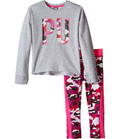 Puma Kids - Cropped Leggings & Top Set (Little Kids)