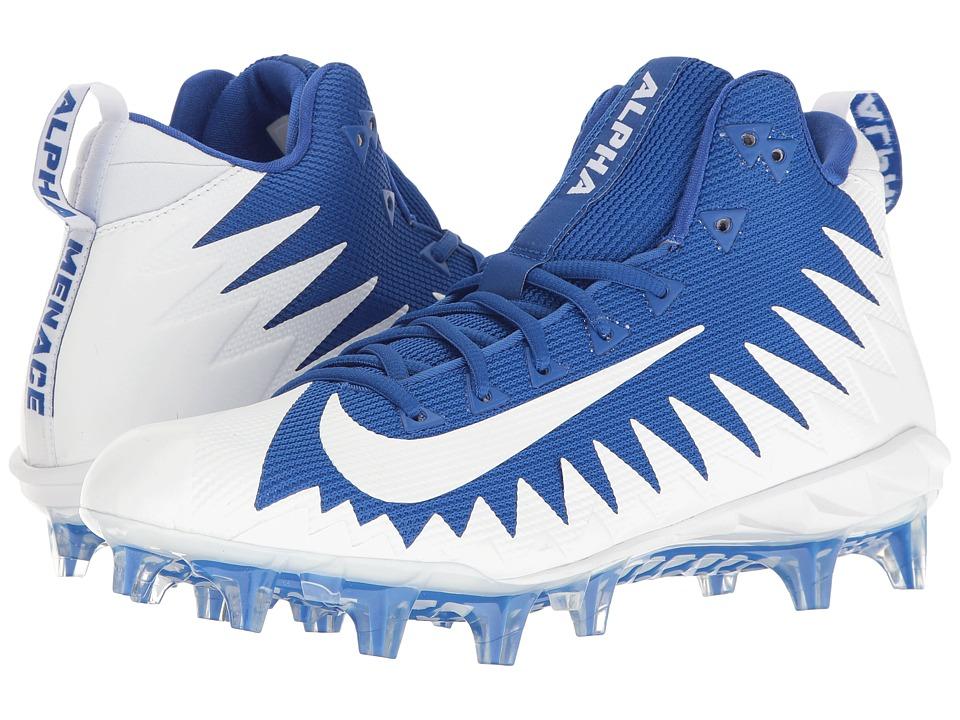 Nike Alpha Menace Pro Mid (Game Royal/White/White) Men