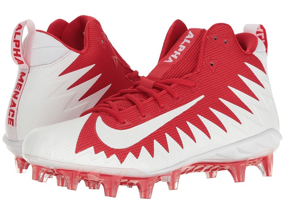 Nike Alpha Menace Pro Mid (University Red/White/White) Men