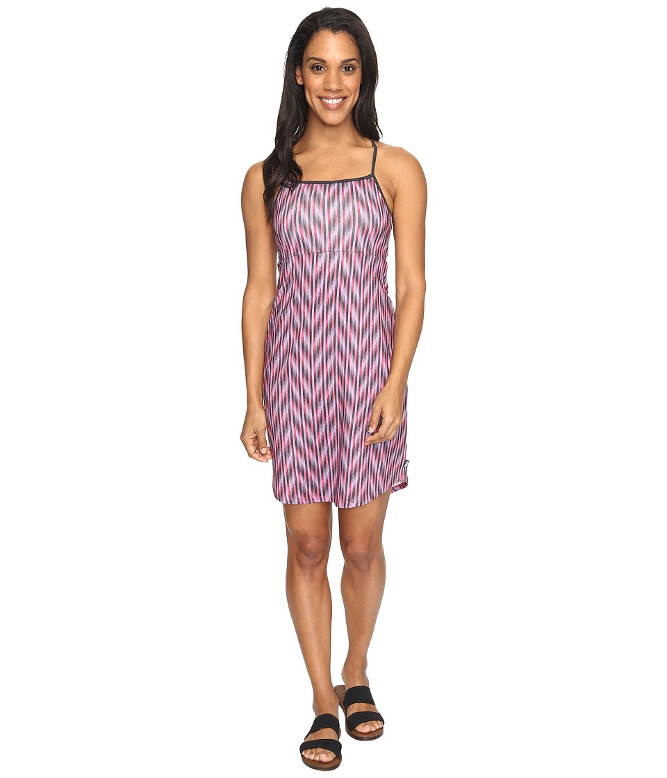 The North Face Exposure Dress (Honeysuckle Pink Ikat Print) Women