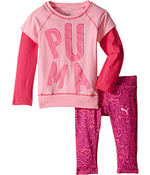 Puma Kids - Two-Piece Zebra Print Set (Toddler)