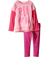Puma Kids - Two-Piece Zebra Print Set (Little Kids)