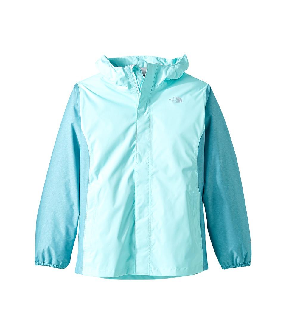 The North Face Kids Resolve Reflective Jacket (Little Kids/Big Kids) (Breeze Blue (Prior Season)) Girl