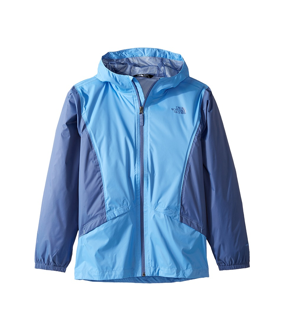 The North Face Kids Zipline Rain Jacket (Little Kids/Big Kids) (Provence Blue) Girl