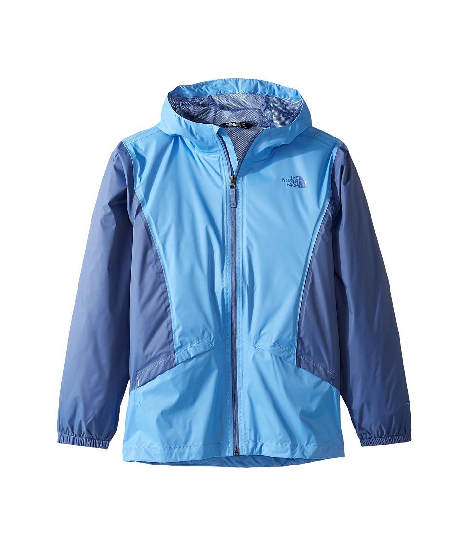 The North Face Kids Zipline Rain Jacket (Little Kids/Big Kids) (Provence Blue (Prior Season)) Girl