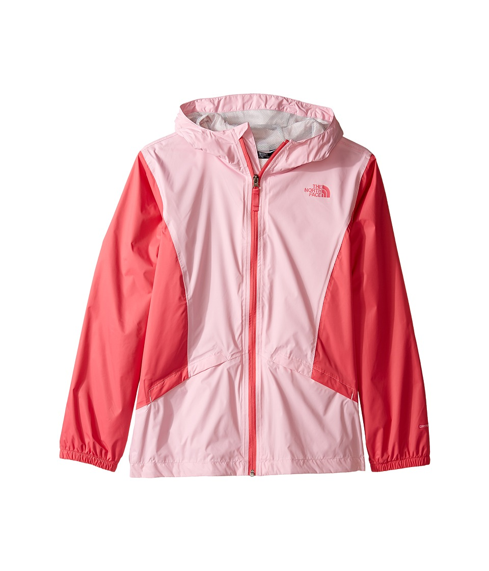 The North Face Kids Zipline Rain Jacket (Little Kids/Big Kids) (Lilac Sachet Pink) Girl