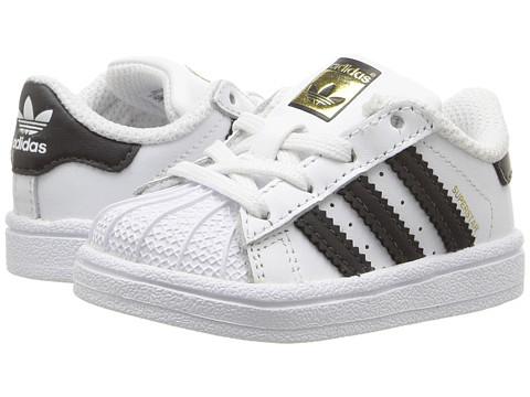 adidas Originals Kids Superstar (Infant/Toddler) - White/Black