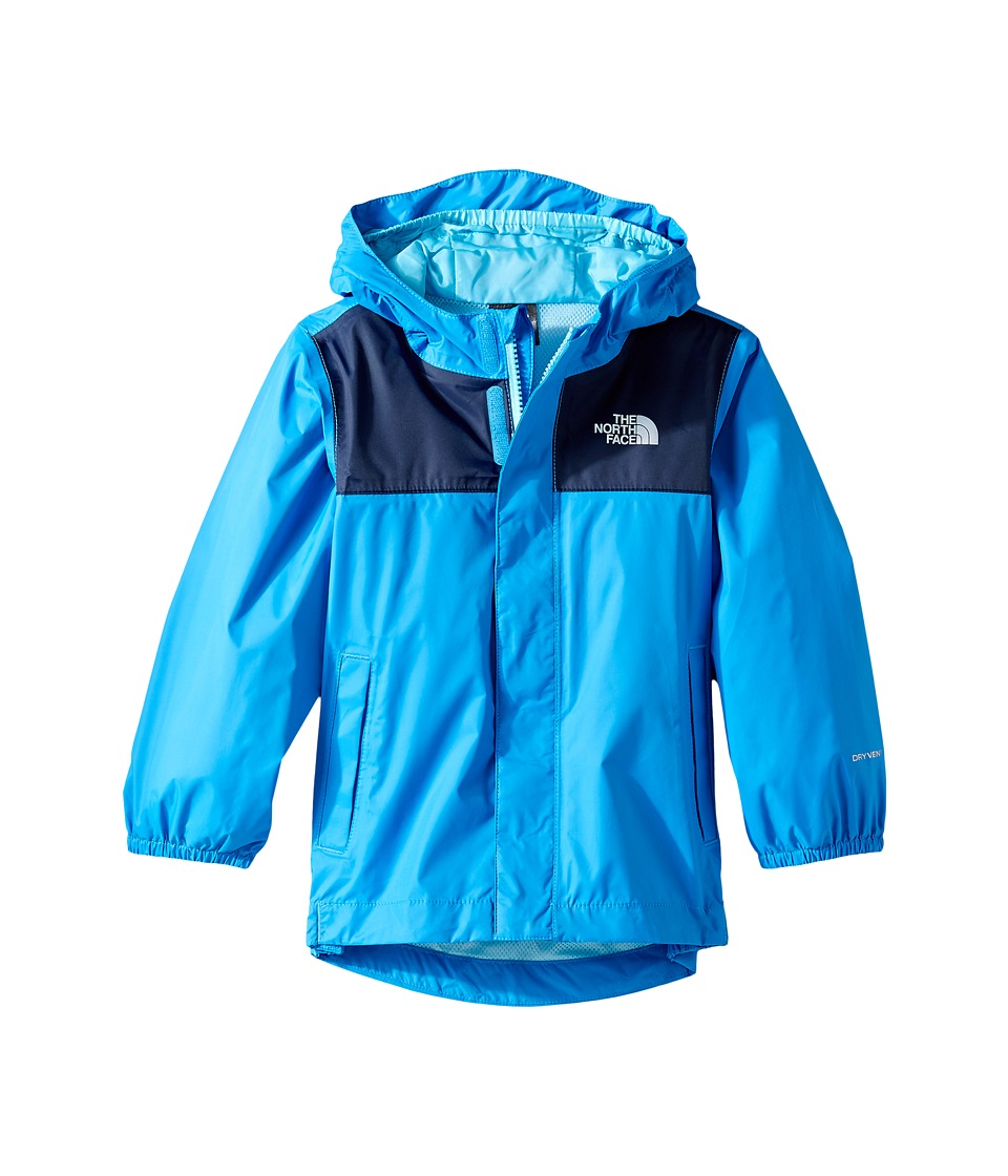 The North Face Kids Tailout Rain Jacket (Toddler) (Clear Lake Blue) Boy