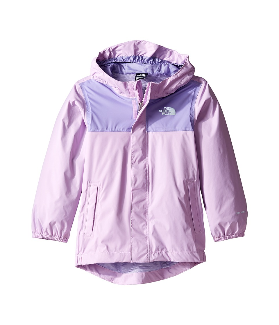 The North Face Kids Tailout Rain Jacket (Toddler) (Violet Tulle) Girl