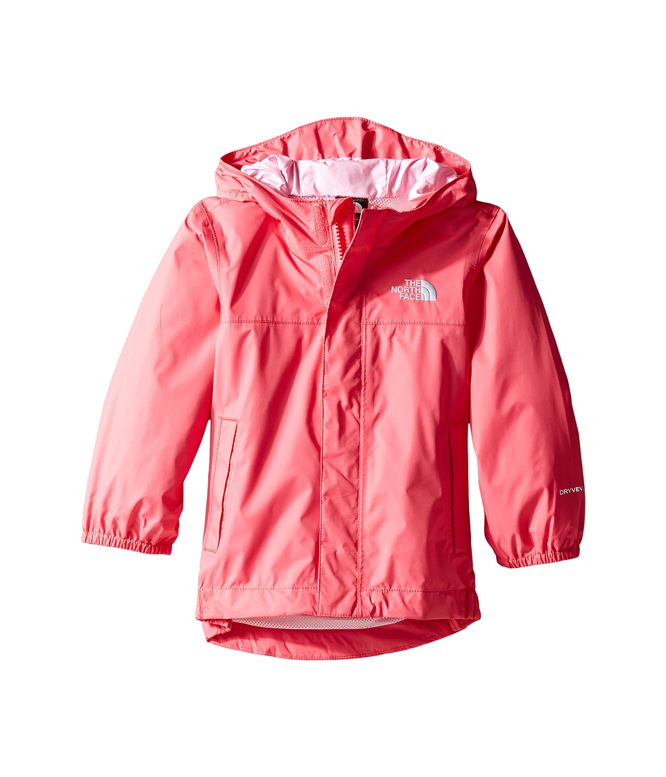The North Face Kids Tailout Rain Jacket (Toddler) (Honeysuckle Pink) Girl