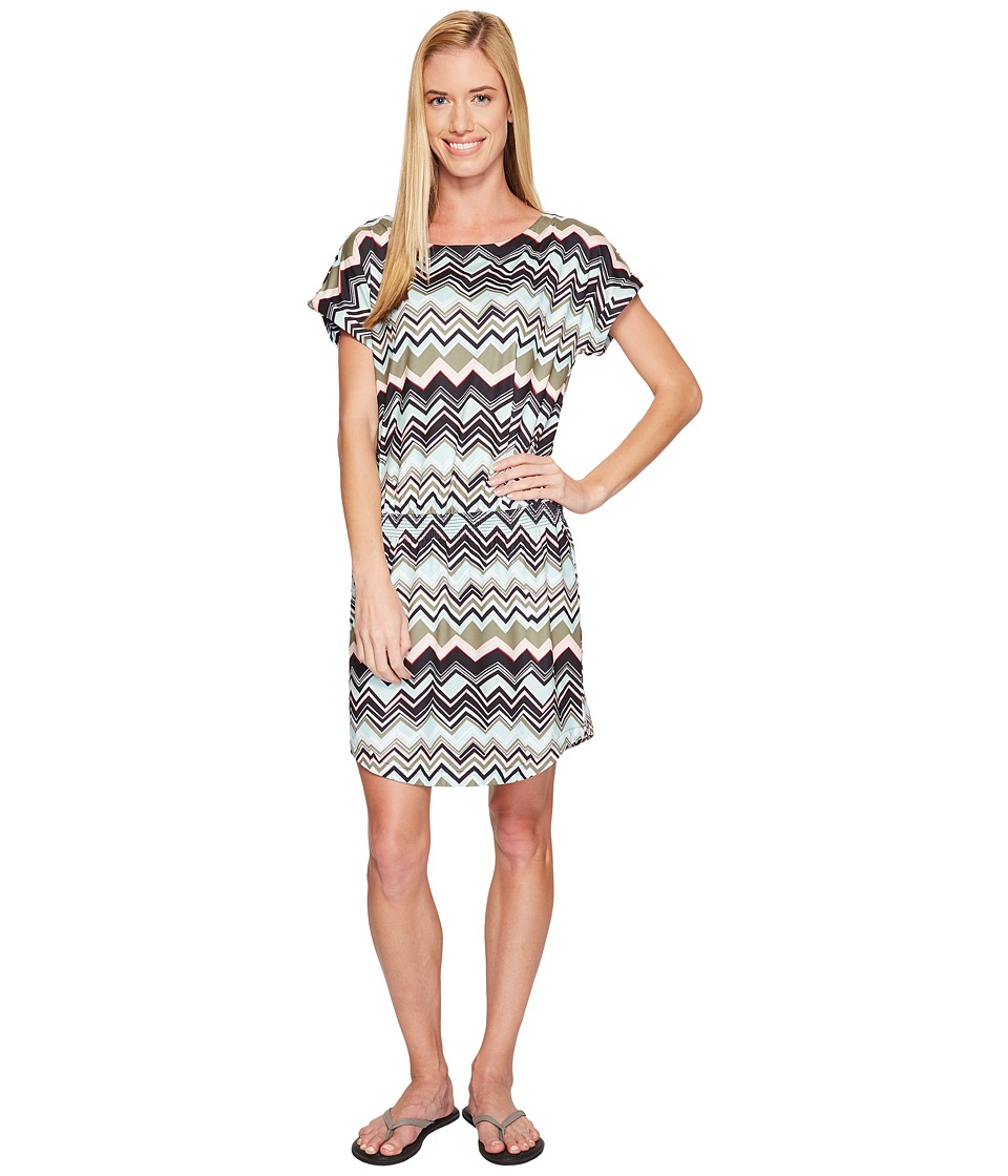 Lole Brodie Dress (Lichen Chevron Stripe) Women