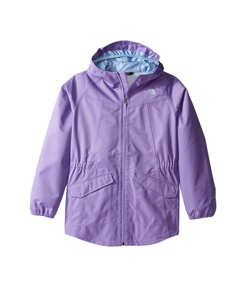 The North Face Kids Sophie Rain Parka (Little Kids/Big Kids) (Paisley Purple (Prior Season)) Girl